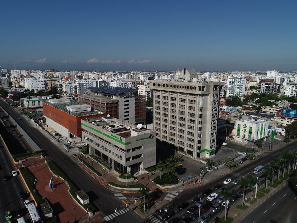 Vista aerea de Evaristo Morales periferia del Polígono Central