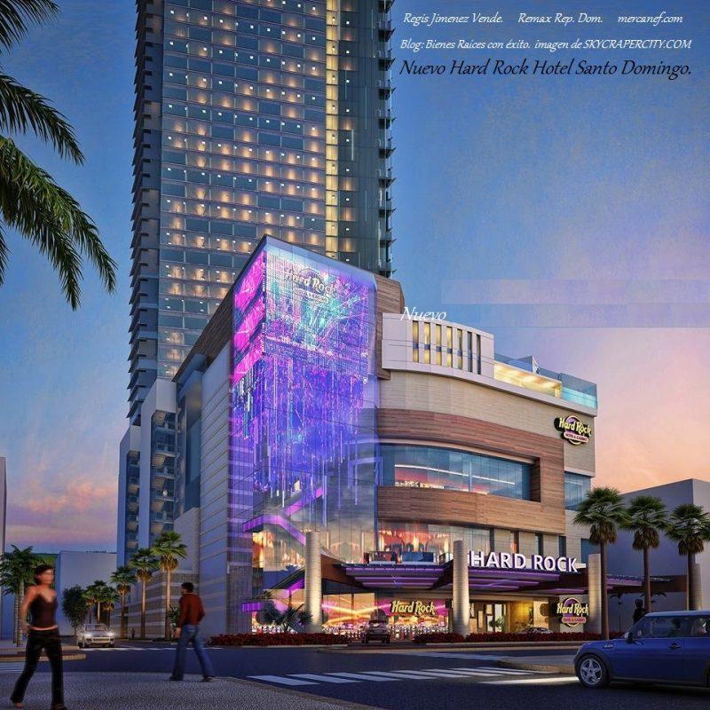 Nuevo Hard Rock Hotel Santo Domingo.