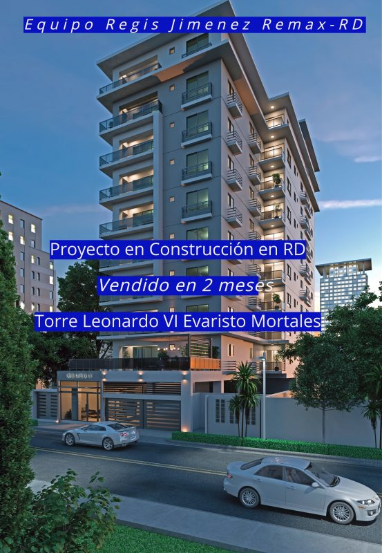 Proyecto en Construcción en RD - Torre Leonardo VI