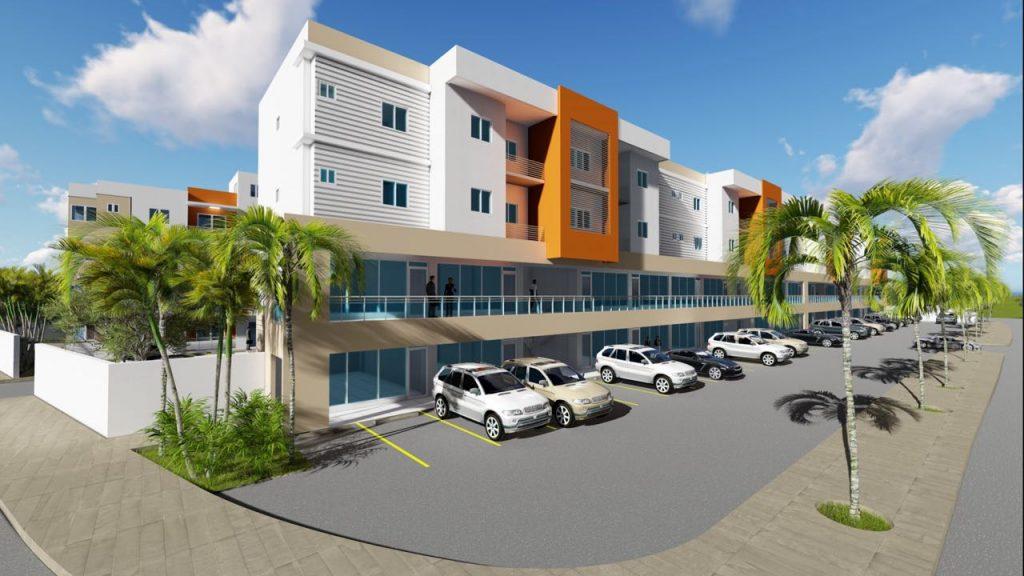 Locales comercial en venta en Villa Aura Santo Domingo