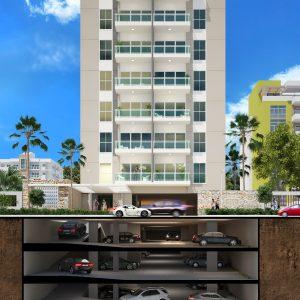 Venta de Apartamentos en Evaristo Morales Santo Domingo