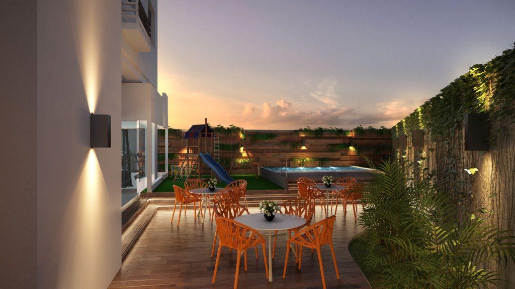 Nuevo proyecto de apartamentos pequeños para inversión en Santo Domingo