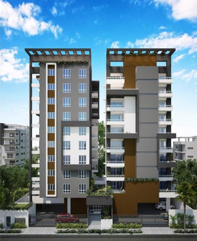 Apartamentos en Construcción en Santo Domingo, Evaristo