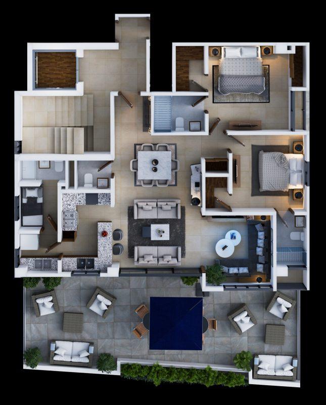 Proyecto de apartamentos en venta Mirador Norte