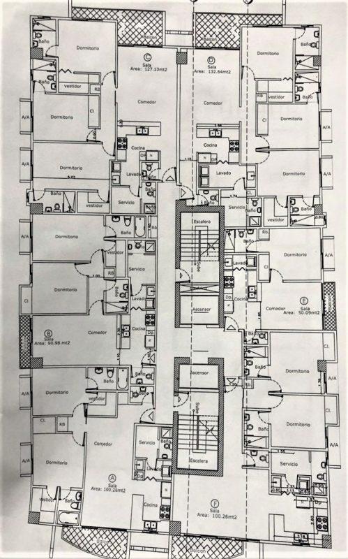 Apartamento en venta en torre en La Esperilla