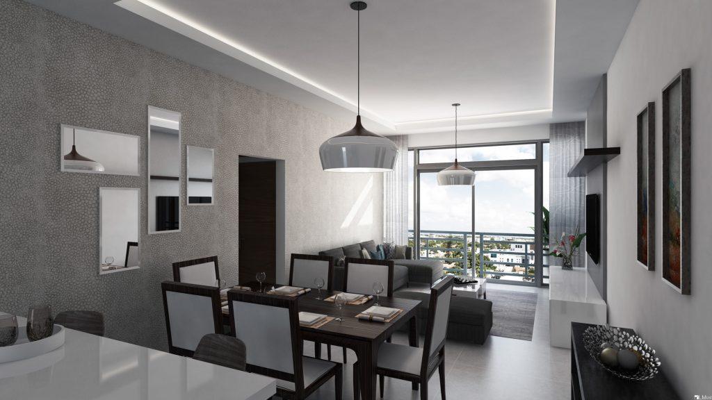 Apartamento en alquiler amueblado en Santo Domingo