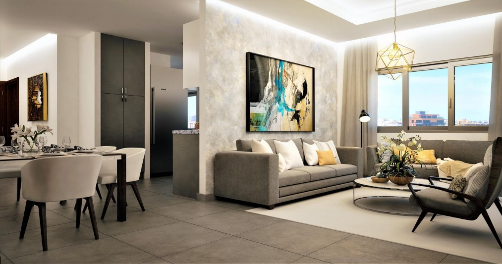 Torre de apartamentos en venta en Evaristo Morales
