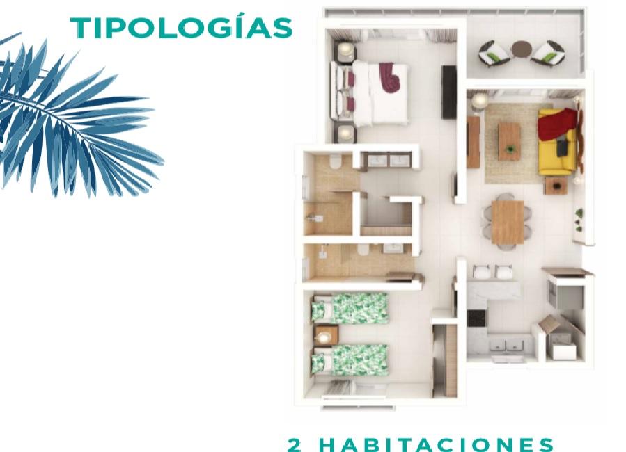 Apartamentos en venta en Punta Cana Santo Domingo