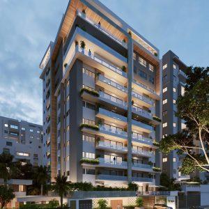 Apartamentos baratos de lujo en un proyecto de apartamentos en Santo Domingo baratos