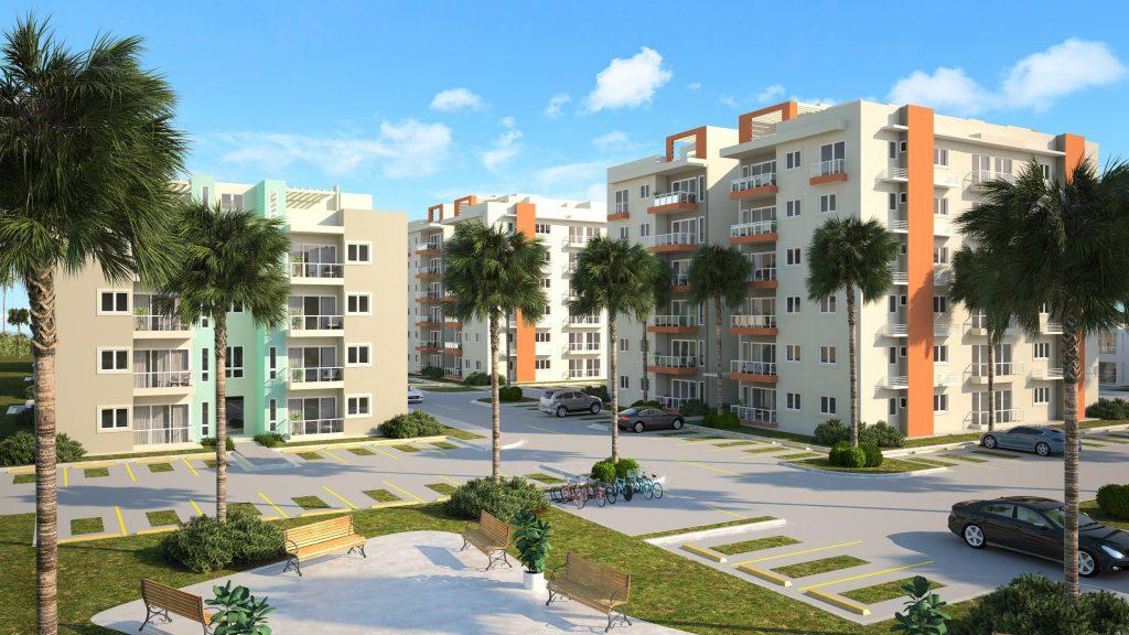 Apartamentos en construcción en Punta Cana RD