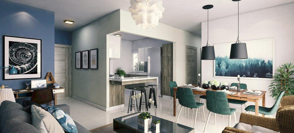Apartamentos en venta con Bono Vivienda en Santo Domingo