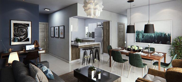 Apartamentos con Bono Vivienda en Santo Domingo