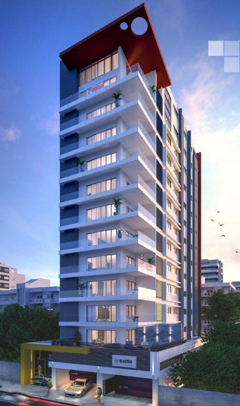 Proyecto de apartamento en construcción en Santo Domingo, sector Paraíso, D.N.
