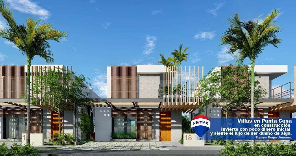 Villas en Punta Cana con patio