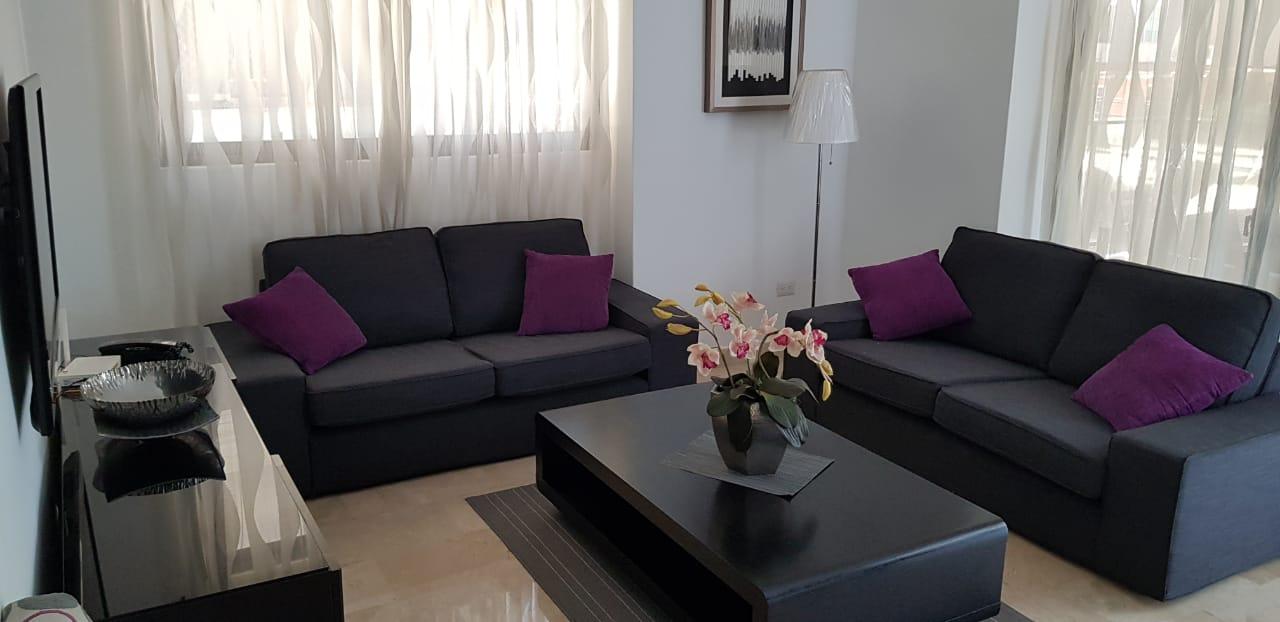 Apartamento alquiler en Piantini amueblado