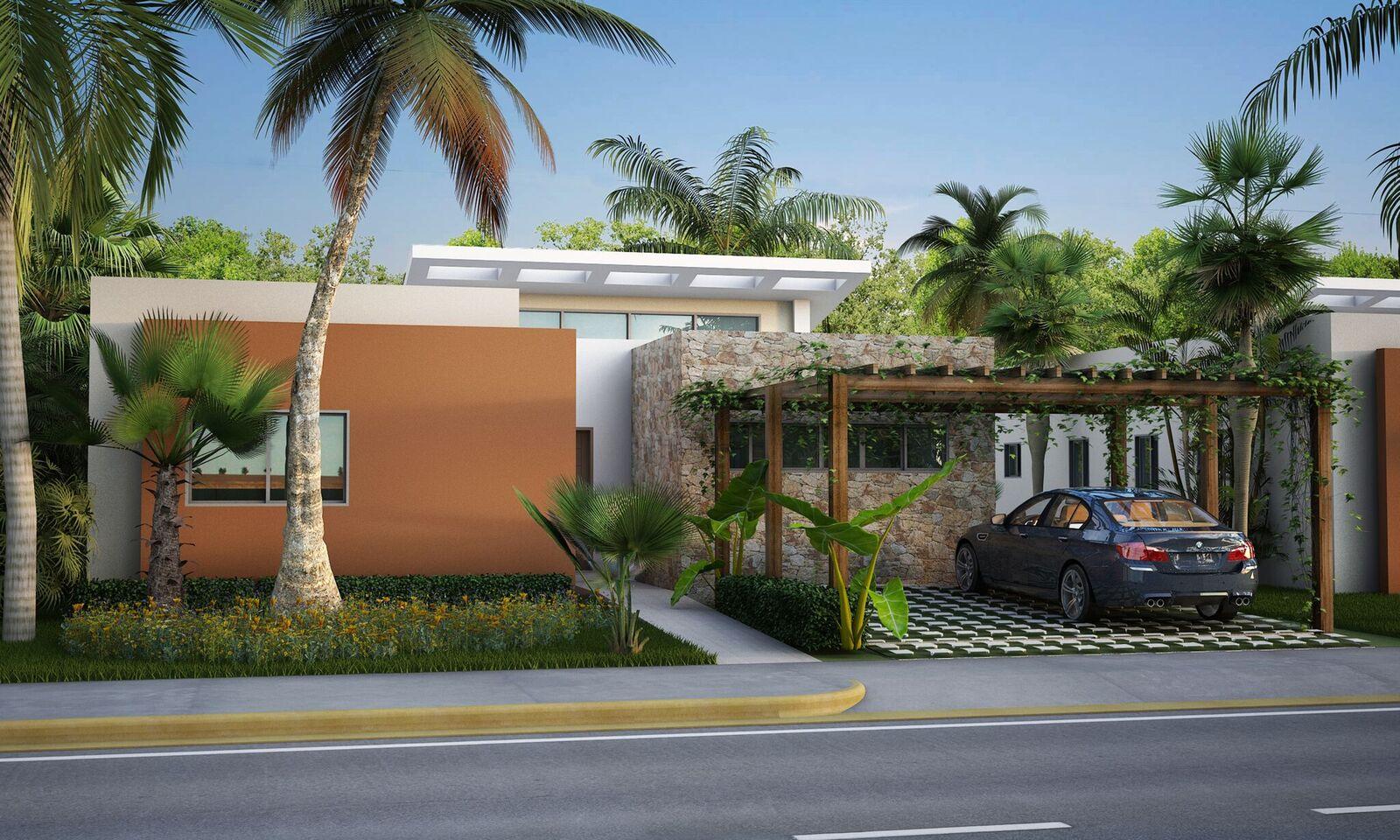 Villas con patio