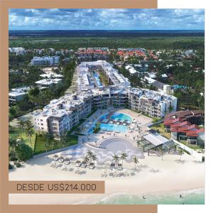 Bienes Raíces para pensionados - Regis Jimenez Remax RD - Imehen de Noval Properties. Proyecto de apartamentos en construccion con playa en Punta Cana