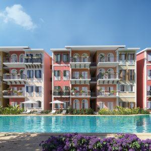 Vacacionar en Punta Cana e invertir. Apartamentos con playa en Punta Cana 3 minutos caminando. Regis Jimenez Remax RD 1-809-350-4540
