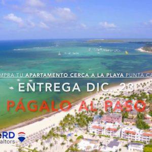 Compra tu Apartamento cerca de la Playa en Punta Cana y Pagalo al paso. InvierteRD Realtors en remax Inmobiliaria en Punta Cana - Regis Jimenez Agente en Punta Cana y Santo Domingo. InvierteRD Realtors en Remax Inmobiliaria